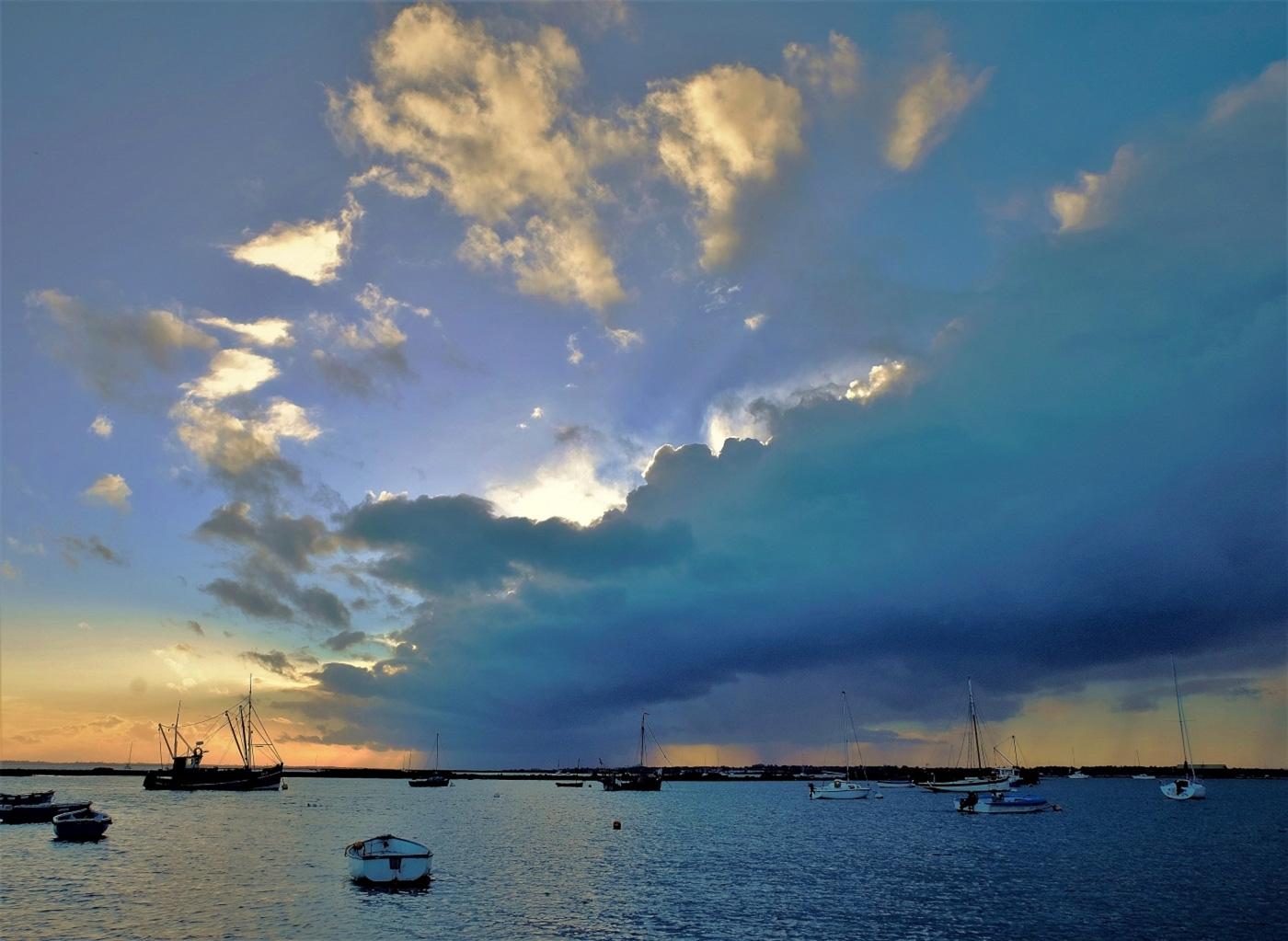 Cloudy Evening, West Mersea-2